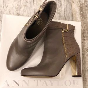 Never Worn! Ann Taylor Ankle Bootie